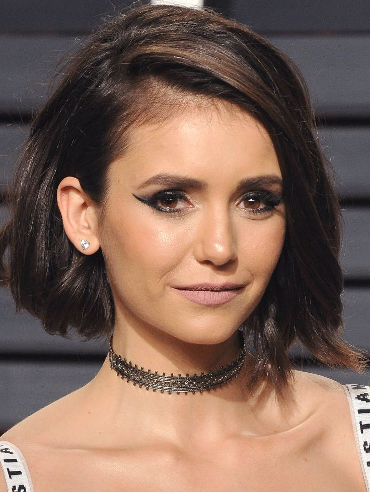 images of black haircuts dobrev s most beautiful hair and makeup moments 5350