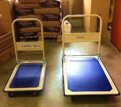 #OutilsDeProduction : Voici nos chariots de transport ; ils facilitent le déplacement des supports lourds pour le plus grand bien des employés. http://www.k-lice.com/single-post/2016/11/21/Chariot-de-transport