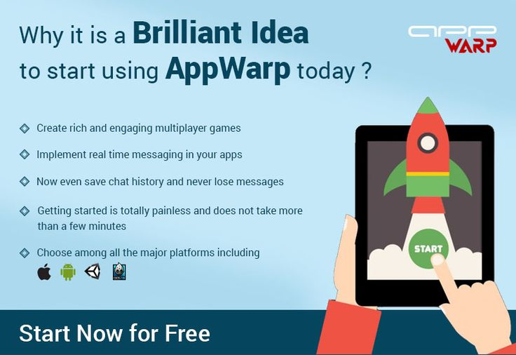 With #AppWarp, create rich and engaging #MultiplayerGames on all major platforms, add #RealTimeMessaging in your #Apps and now even get to #SaveChatHistory. Getting started does not take more than a few mins: http://appwarp.shephertz.com/