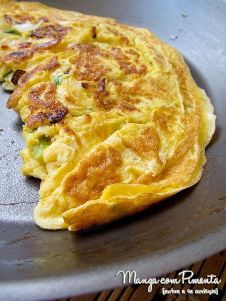 Quer aprender a fazer um Omelete maravilhoso para o seu almoço de amanhã? Clique na imagem para conferir a receita.