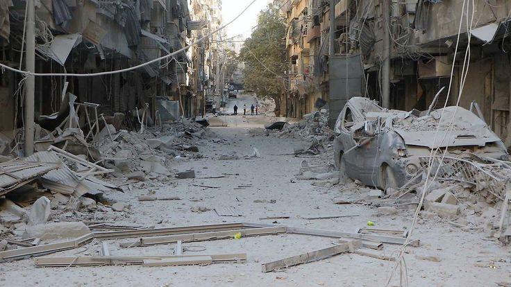 Ruhe vor dem Sturm in Aleppo?: Türkei wirft Assad Kriegsverbrechen vor