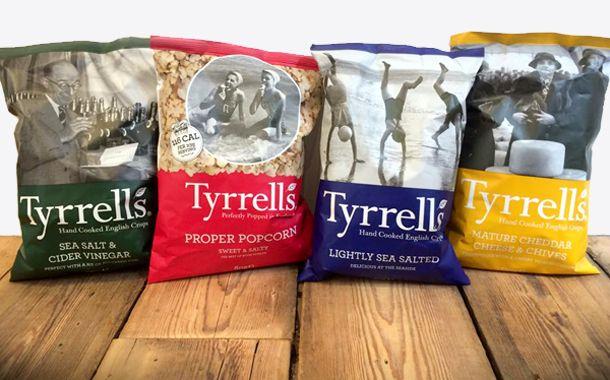 Tyrrells crisps agrees to $300m takeover from US snack brand http://www.foodbev.com/news/crisp-brand-tyrrells-agrees-300m-sale-to-amplify-snack-brands/