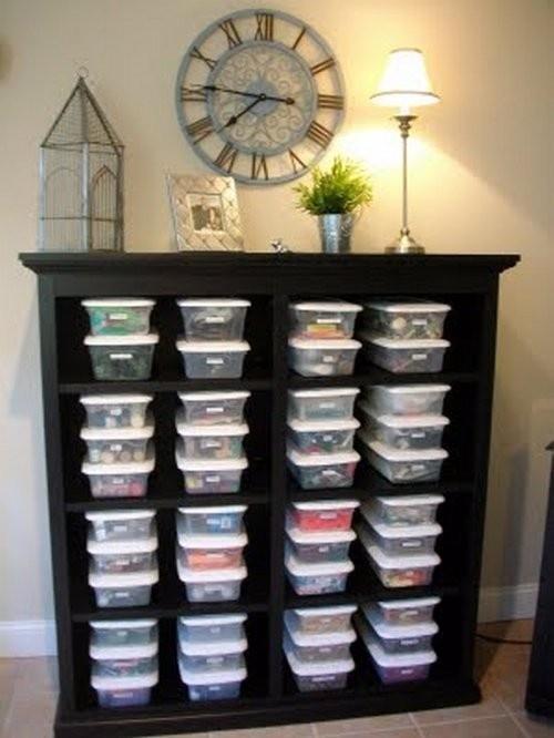 Creative ways to organize!!