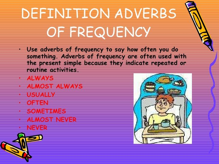 Adverbs Of Frequency Examples Ingl3101 Academic Skills Unit 2