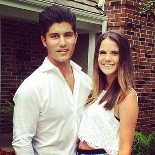 Dan Smyers with beautiful, Girlfriend Abby Law