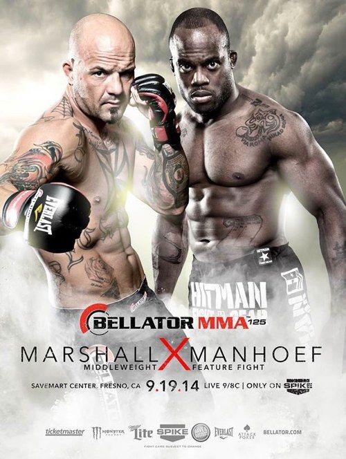 Bellator MMA Friday, September 19th: Doug Marshall vs Melvin Manhoef