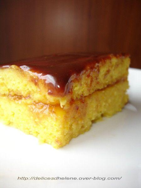 fondant à l'orange sans gluten (1)