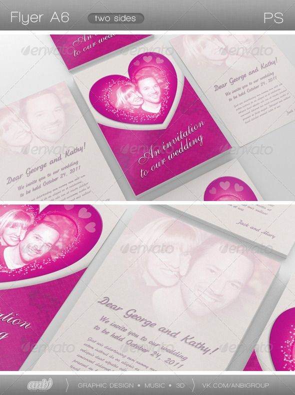 a6 wedding invitation insert template - 28 images - same day flyer