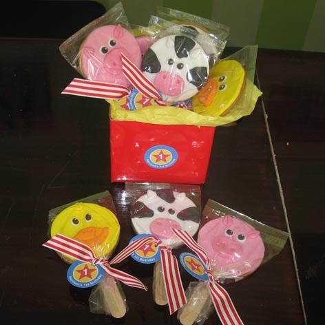 Farm - Cookie Wands x 12 - That's My Cake