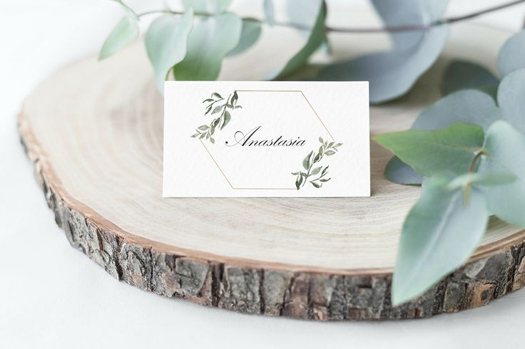 Greenery Place Cards Template, Printable Place Cards,  Printable Wedding Place Cards, Escort Cards,  Place Card Wedding, Place Cards, PDF by HeavenandFifthStudio on Etsy https://www.etsy.com/listing/558414814/greenery-place-cards-template-printable