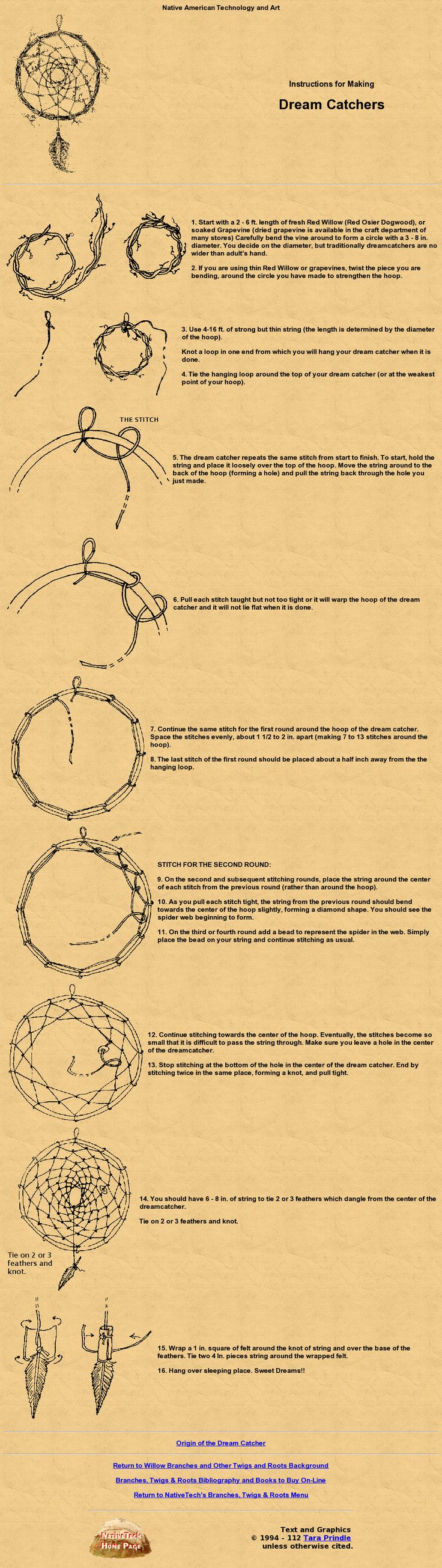 How to make a Dreamcatcher. Have you ever made one before?