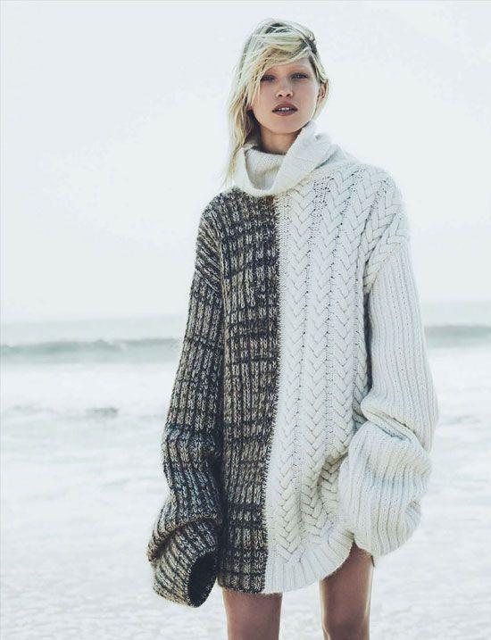 fashion editorial via fashionedbylove Vogue Germany November 2014 (photography: Nick Dorey, styling: Katie Mossman)