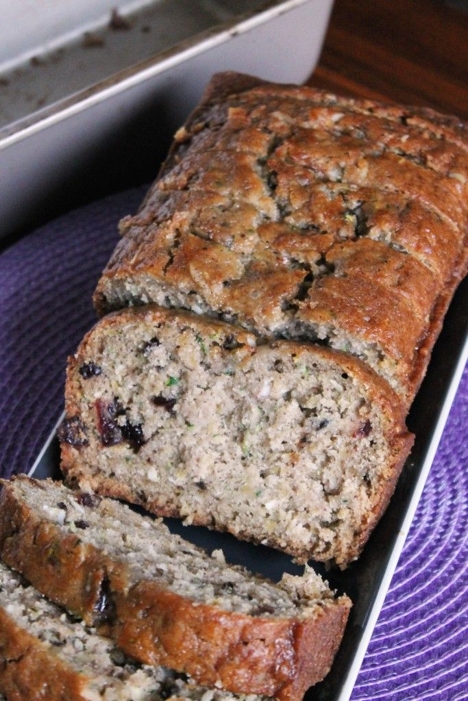 Pineapple Cranberry Zucchini Bread - I would use whole cranberries cut in half