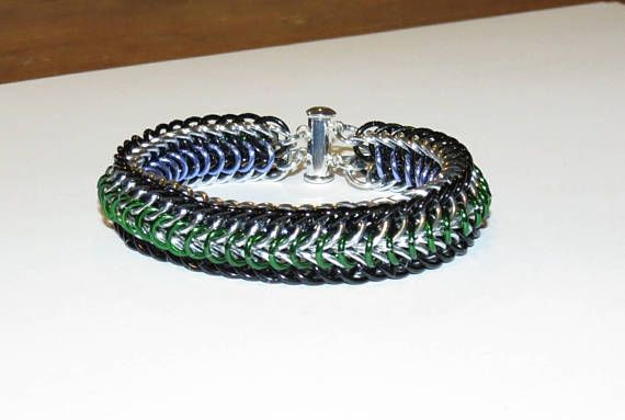 Reversible Double Half-Persian 4-in-1 Chainmaille