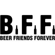 BFF Beer Friends Forever  | Saved by https://mancan.beer