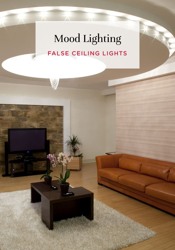Stunning New False Ceiling Lights Take Centre Stage In Interiors