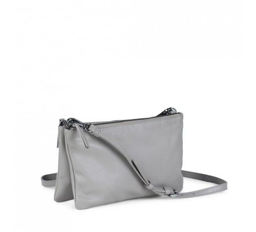 Elna Crossbody Bag in smoke leather // Markberg