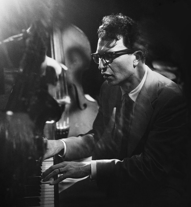 Dave Brubeck performing at The Haig in Los Angeles, 1950. -Bob Willoughby Photography