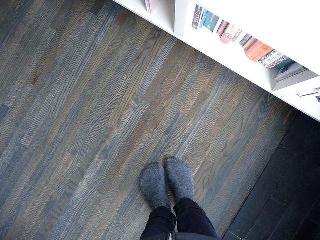 The stain is 3 parts ebony, 1 part. Grey Wooden FloorGrey StainWood ... - 25+ Best Ideas About Hardwood Floor Stain Colors On Pinterest