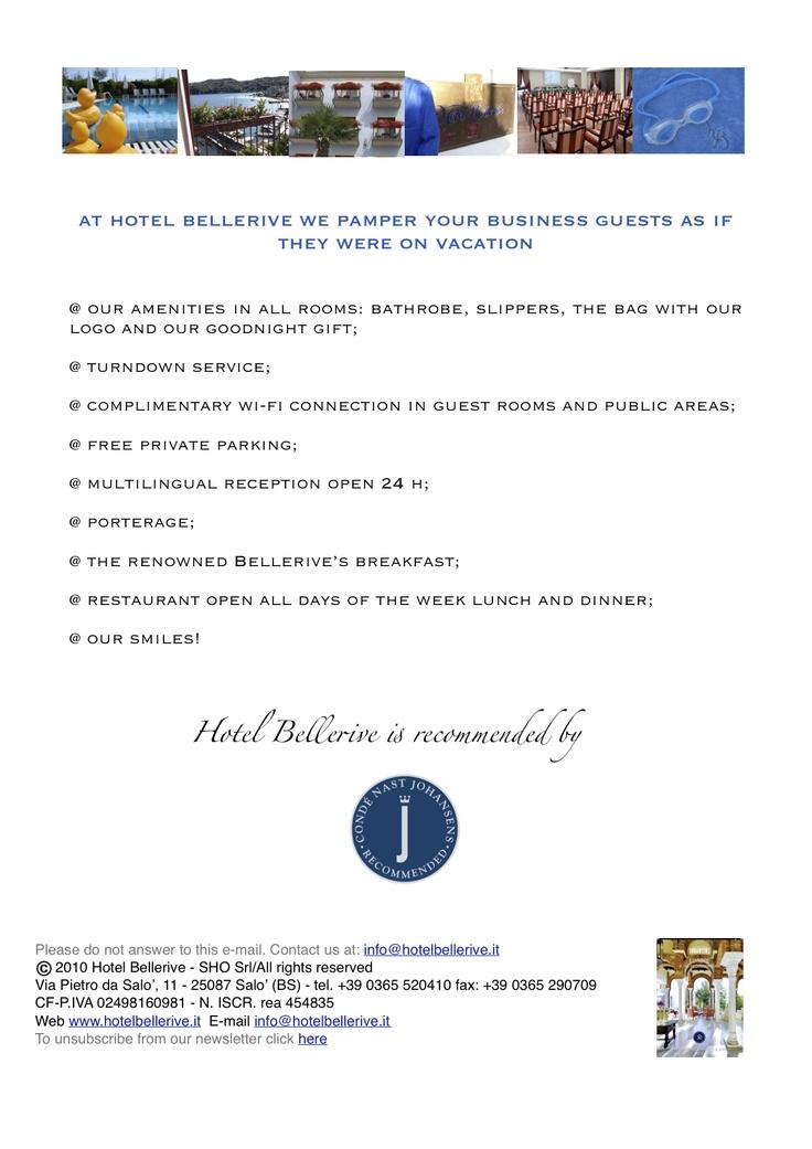 Bellerive is your partner inbusiness