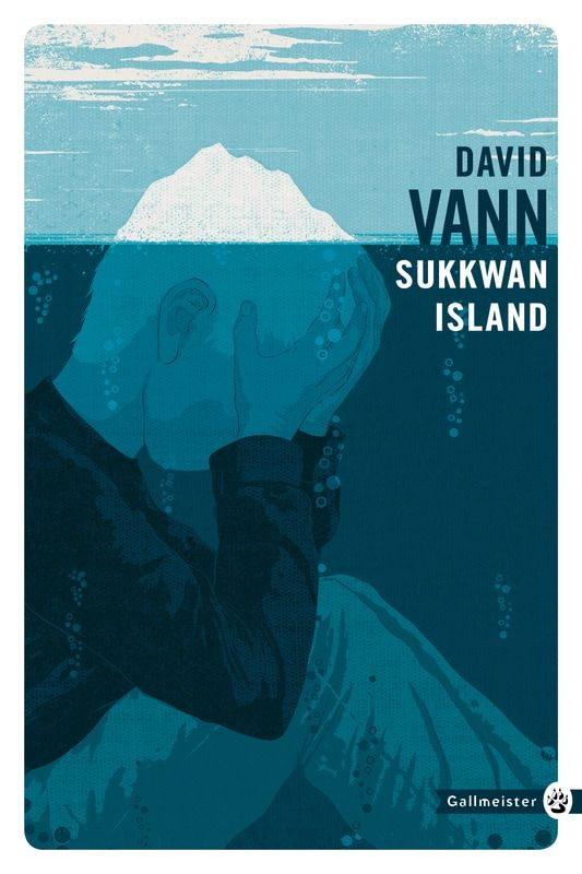 """Conceptual book cover illustration for """"Sukkwan Island"""", by David Vann. Client: Gallmeister. Artist: Oli Winward #illustration #conceptual #BookCover #novel #art #print #poster #novel #graphic"""