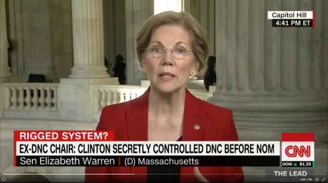 Warren says DNC rigged nomination for Clinton The Massachusetts senator says she believes the Democratic National Committee rigged the 2016 primary system to favor Hillary Clinton. Follows claims by ex-DNC chair Donna Brazile»