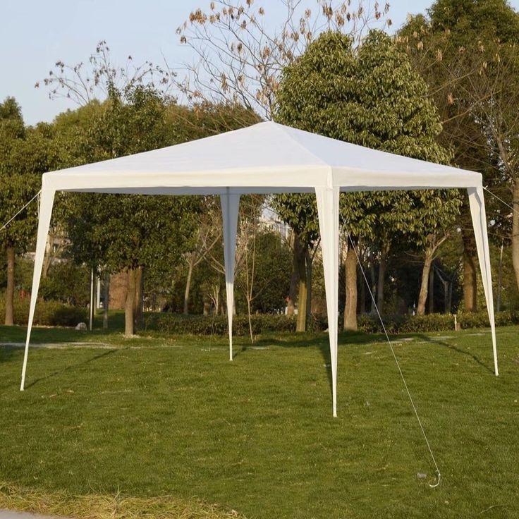 10'x10' Canopy Party Wedding Tent Heavy Duty Gazebo Pavilion Event, #F311000992401
