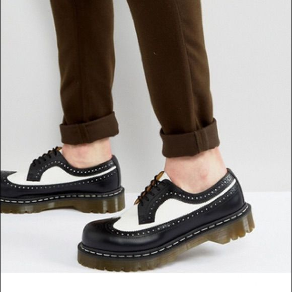Brogue shoes, Two tone brogues
