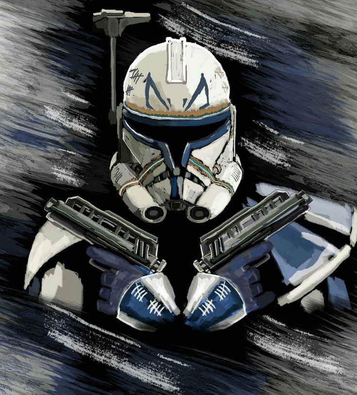 Captain Rex | Star wars background, Star wars images, Star ...