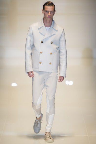 Sfilata #Gucci Milano Moda Uomo Spring Summer 2014 - total white