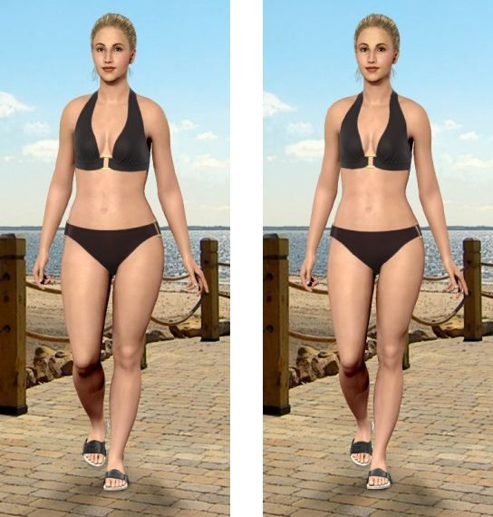 секреты похудения моделей