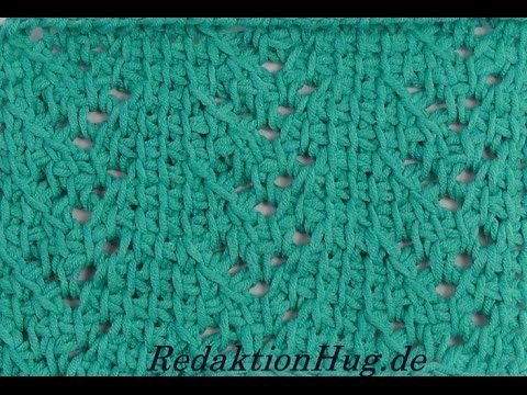 Tunisian Crochet - Ears pattern (IN GERMAN - If you are familiar with Tunisian Crochet you can watch this video to learn this stitch... The video is very good... Deb)