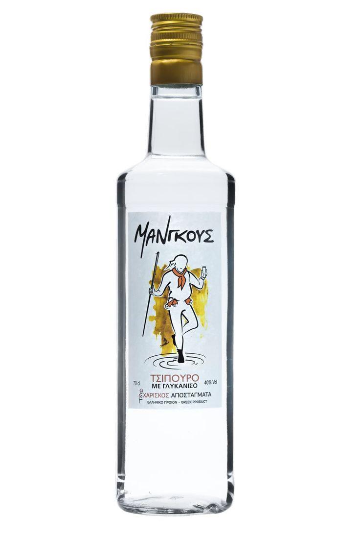 Τσίπουρο Μάνγκους με γλυκάνισο - 700 ml 42% vol. - Tsipouro Mangoos with anise