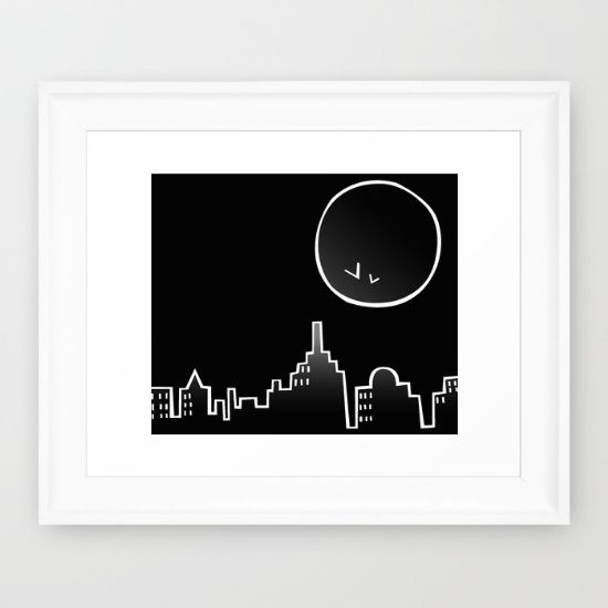 Buy Skyline Framed Art Print by ongadesign. Worldwide shipping available at Society6.com. Just one of millions of high quality products available.