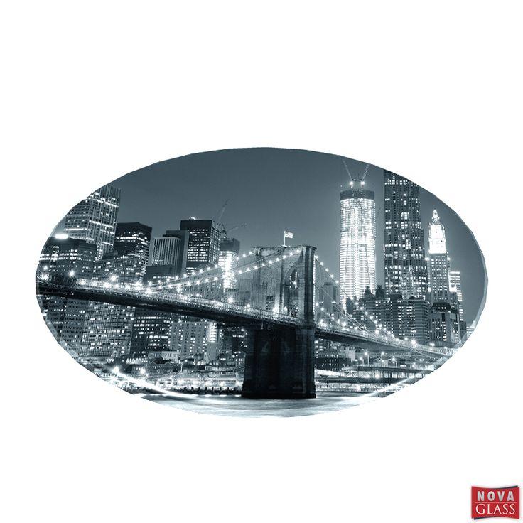 Περιστρεφόμενη βάση με ψηφιακή εκτύπωση Φ30 Κωδ. BG4476-1   Nova Glass e-shop