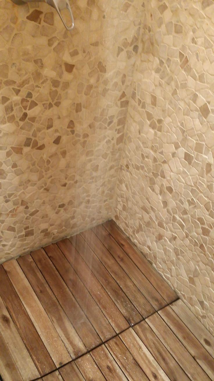 DIY floor Shower,Interlocking Deck Tiles  www.decktogo.com