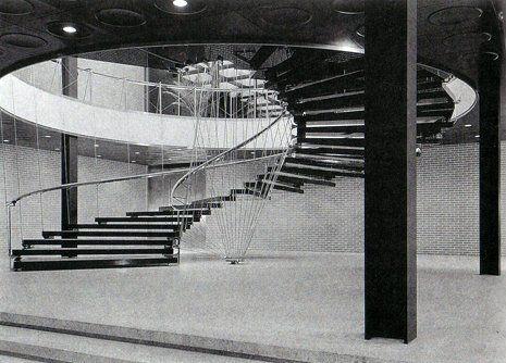 Eero Saarinen - General Motors Technical Center. Warren, Michigan, 1956. Photographer Ezra Stoller.