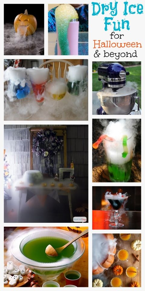 Dry Ice Experiments for Halloween & Beyond