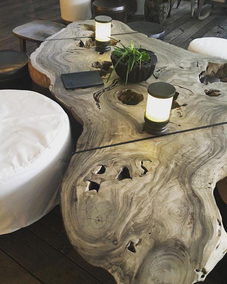 Coffee table art such a beautiful statement piece #organic #coffeetable #timbercoffeetable #furnituredesign #furniture #interiordesign #decor #uniquedecor