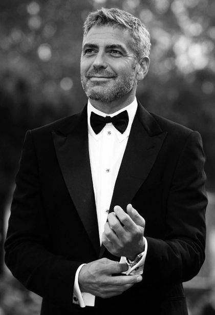 Our favourite #silverfox, #GeorgeClooney
