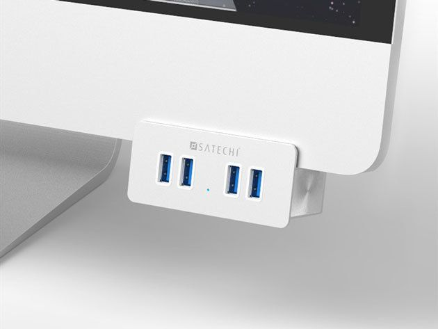 Check out this 4-port USB clamp hub for 28% off.