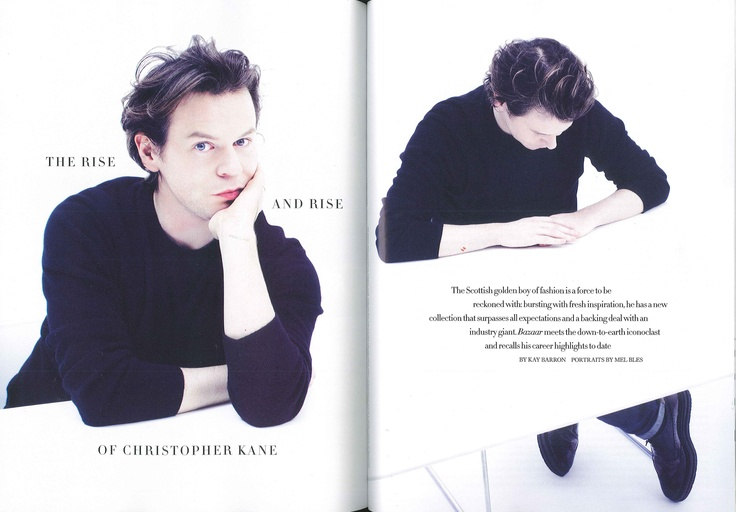 Christopher Kane Interview