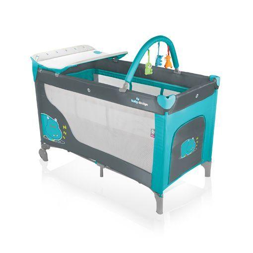 Patut Pliabil cu 2 Nivele Dream de la Baby Design
