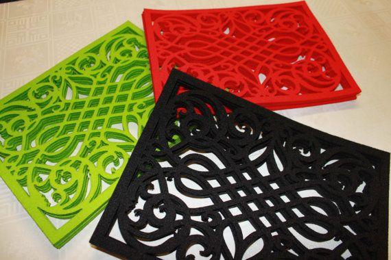 Set of 4 table mats