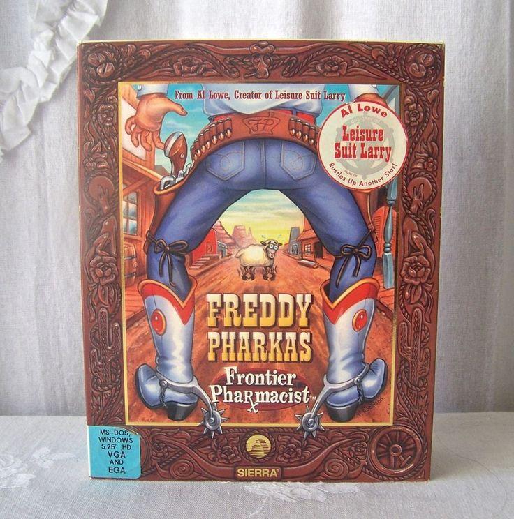 Freddy Pharkas Frontier Pharmacist Sierra Computer Game 1993