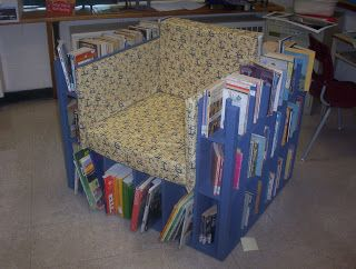 Classroom Bibliochaise   Make Your Own Bookcase Chair!