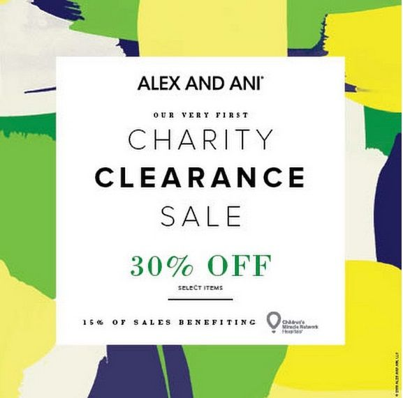 We are so excited to announce our first ever @AlexandAni Charity Clearance Sale June 12 - 21 at @LilacAndLilies_Boutique. Enjoy 30% off to benefit @ChildrensMiracleHospitals. We have tons of new styles! Come find yours! #AlexAndAni #PositiveEnergy #Bangles #WithLove #Fashion #Charity #Sale #FortLauderdale #Miami #BocaRaton #Love #Shopping