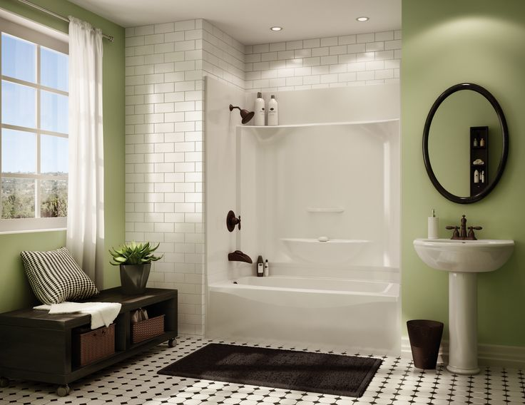 Bathtub Shower Combo Design Ideas: Kohler Sterling 1 Pc Tub Shower - Google Search