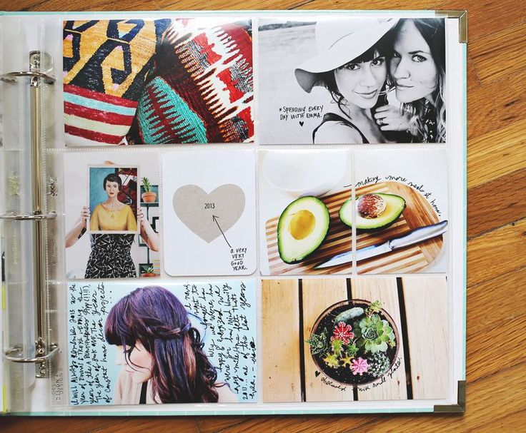 We love this fresh take on scrapbooking www.abeautifulmess.com