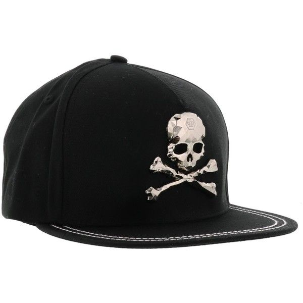 Philipp Plein X Men Baseball Cap ($180) ❤ liked on Polyvore featuring men's fashion, men's accessories, men's hats, mens baseball caps, mens baseball hats, mens hats and mens ball caps